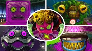 Splatoon - All Bosses (No Damage)