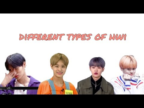 wanna one lee daehwi: different types of hwi