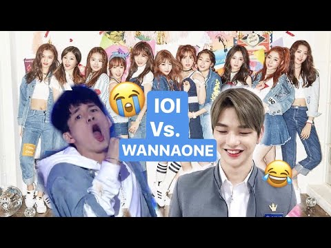 Which WANNA ONE member Resembles the IOI member?