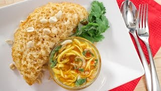 Crispy Fish w/ Green Mango Salad Recipe ยำปลา(ไม่ดุก)ฟู - Hot Thai Kitchen!