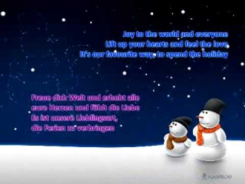 Aly & AJ (78violet) - Greatest Time Of Year (Lyrics & german translation)