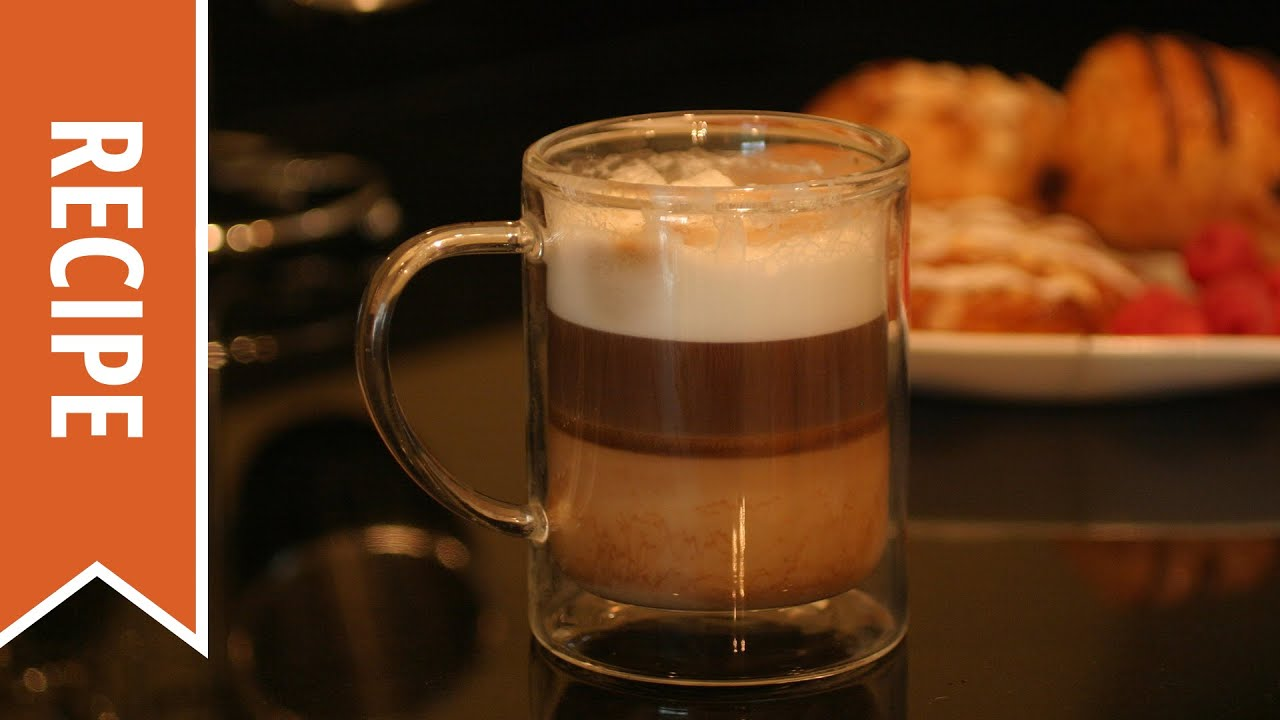 How To Make A Layered Latte Youtube