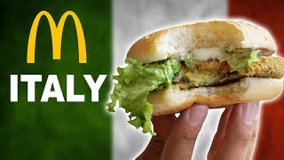 WE TRY McDonalds ITALY - TOP 10
