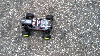 1/18 HPI recon brushless speed test 35mph