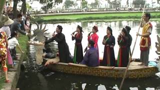 Hội Lim Tiên Du, Bắc Ninh 2012 phần 1 - Quan Họ Trên Thuyền