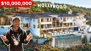 My New $10,000,000 Hollywood Hills MANSION TOUR! 😳😭