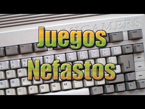Amigamers Review #19 Juegos Nefastos