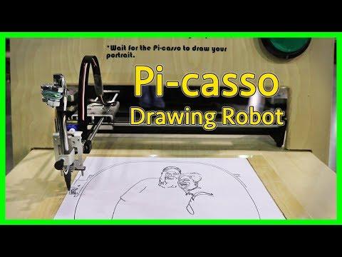 Pi-casso Drawing Robot