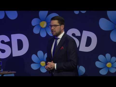 Jimmie Åkessons tal på Valkonferensen 2018