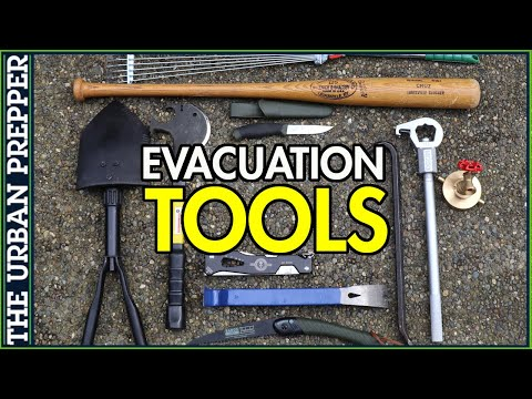 What's your BIGGEST Evacuation TOOL?
