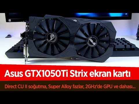 video Asus Rog Strix Gtx 1050Ti 4G Gaming