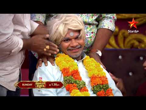 Comedy Stars funny skit on Mukku Avinash, promo