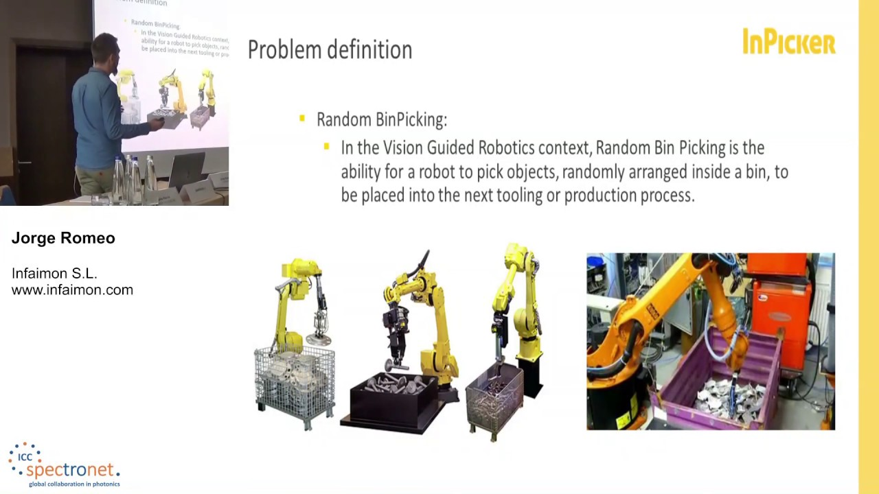 Random bin picking: Last step for a complete factory automation process - Machine Vision Technology Forum 2019