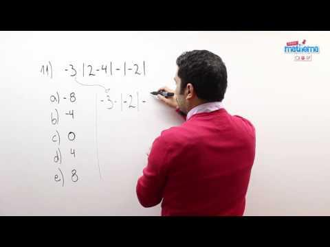 Prueba de números enteros 11