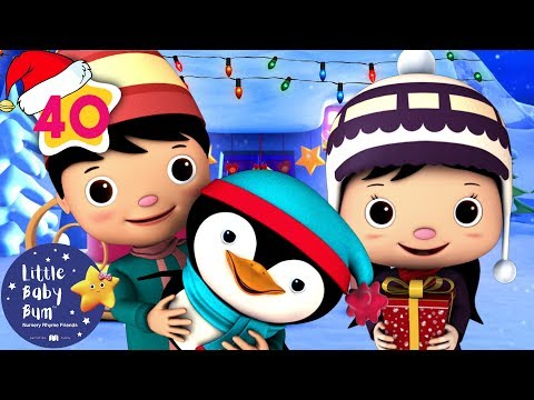 Jingle Bells | Christmas Songs for Kids | +More Nursery Rhymes and Kids Songs | Little Baby Bum