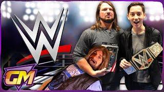 OMG! My Dad Vs WWE Wrestler AJ Styles!! - Epic Kids Parody