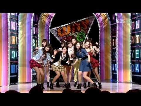 少女時代(SNSD) - 힘 내! (Way To Go) stage mix