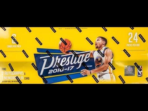 Box Busters: 2016-17 Panini Prestige Basketball