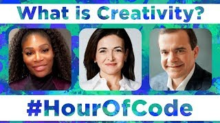 What is Creativity? (with Sheryl Sandberg, Serena Williams, Jeff Wilke and Scott Forstall)