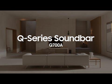 Soundbar - Q700A: Official Introduction   Samsung