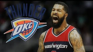 MARKIEFF MORRIS SIGNS WITH THE OKLAHOMA CITY THUNDER!!