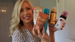 SELF TANNER REVIEWS || BEST & WORST!