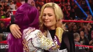 Sasha Banks returns and attack Natalya (HEEL TURN)