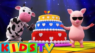 Happy Birthday Song | Birthday Song for Kids and Children's |  Kids Tv Nursery Rhymes