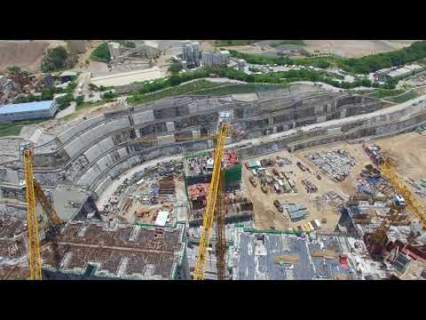 Aerial View Of A Construction Site - Justin Negip