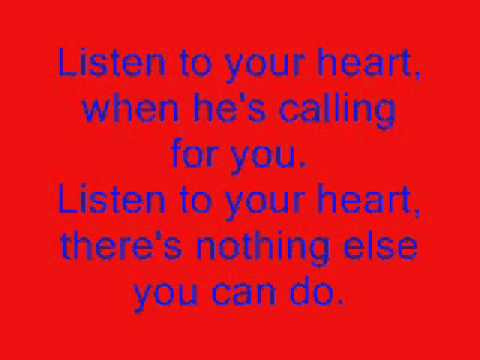 Baixar Listen To Your Heart (Letra) - Roxette.