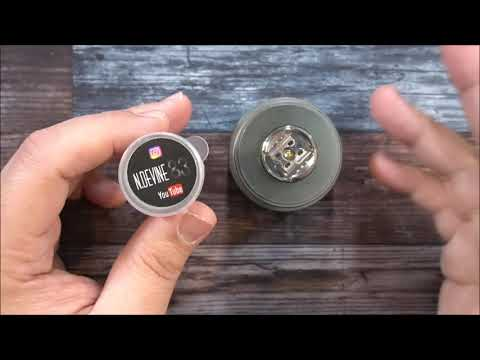 video Wotofo X Mike Vapes Recurve Dual 24mm Bf Rda