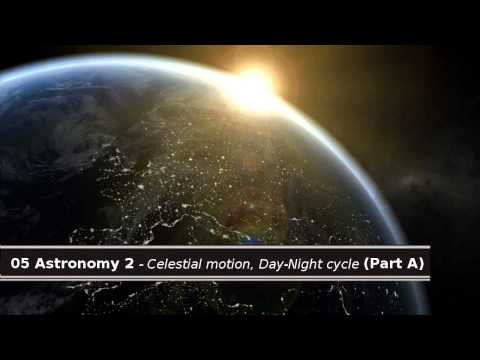 05 Quran & Science - Astronomy 2. Celestial motion, Day-Night cycle (Part A)