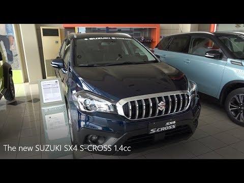 The new SUZUKI SX4 S CROSS 1 4cc