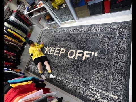 UNBOXING!IKEA x Virgil Abloh 地毯竟然涨了 10000 块!你会买它吗?