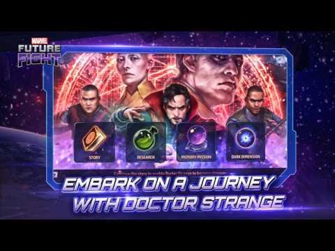 Marvel Future Fight - DrStrange Tanıtım Videosu!