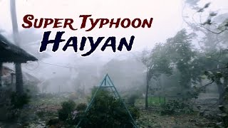 Super Typhoon Haiyan: Inside the Belly of the Beast