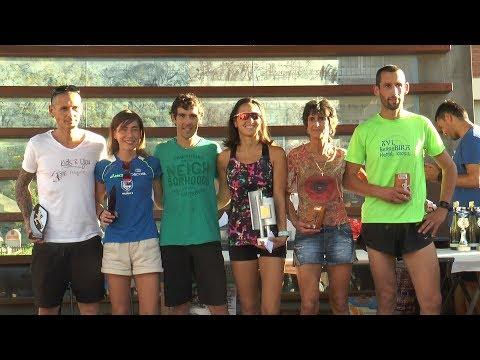 Aitor Regillaga eta Maialen Muñoz garaile XVI. BerroBira Kros Herrikoiean