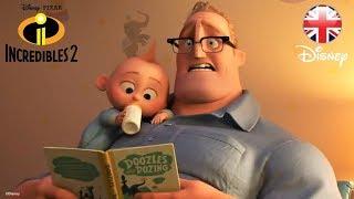 INCREDIBLES 2   SNEAK PEEK   Official Disney Pixar UK