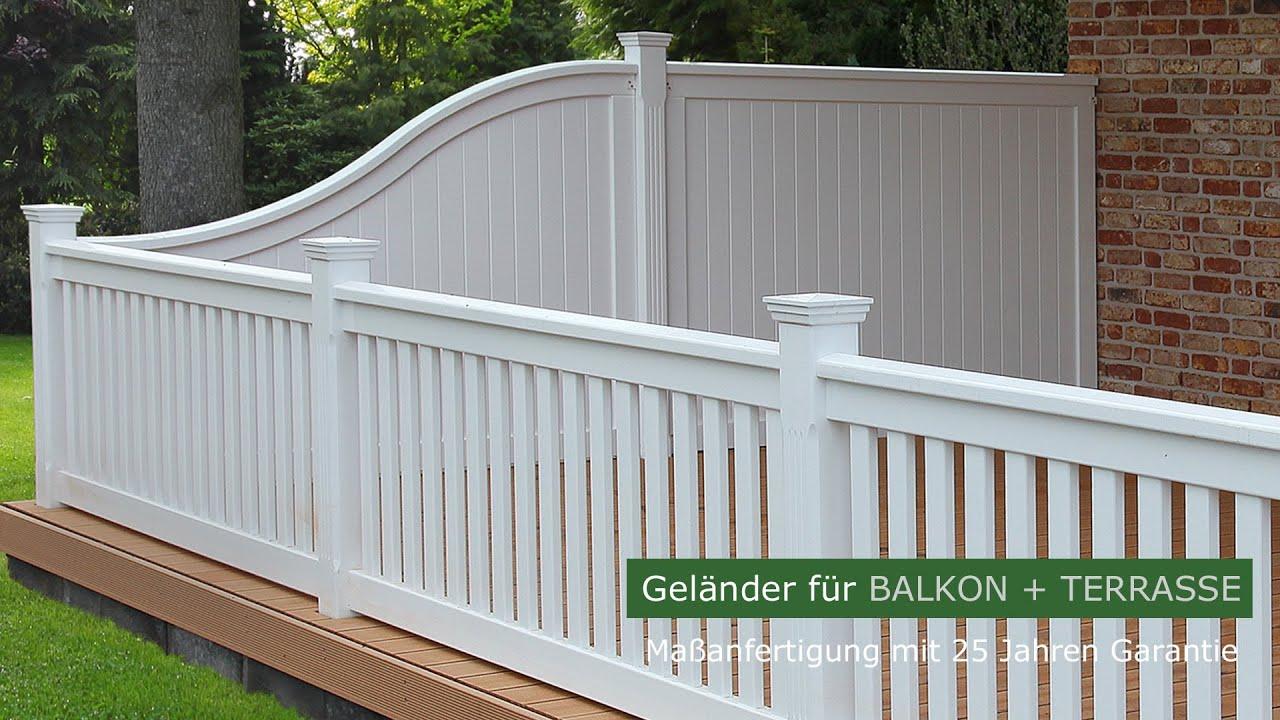holzbalkon hartholz wei balkongel nder dachterrasse 25 jahre garantie youtube. Black Bedroom Furniture Sets. Home Design Ideas
