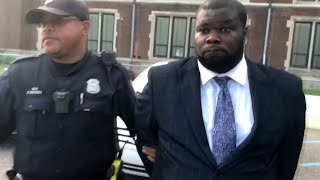 Detroit police commissioner removed from meeting in handcuffs