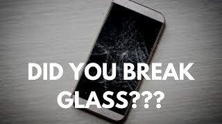 What It Means When You Accidentally Break Glass......