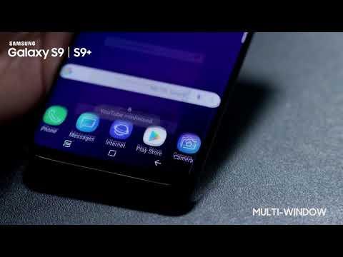 Brug af Multi Window på Samsung Galaxy S9/S9+
