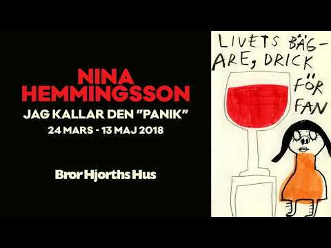 """Nina Hemmingsson - Jag kallar den """"panik"""""""