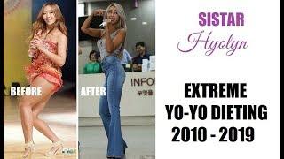 SISTAR Hyolyn Extreme Yo-Yo Dieting 2010 - 2019