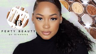 NEW Fenty Beauty Concealer & Powder Review!