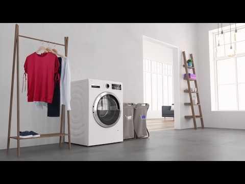 Täydellinen pesutulos Bosch i-DOS-pesukoneella