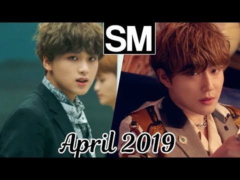[TOP 100] Most Viewed SM Kpop MVs [April 2019]