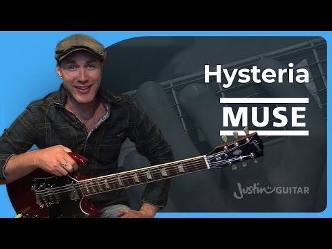 Baixar Hysteria - Muse (Songs Guitar Lesson ST-326) How to play