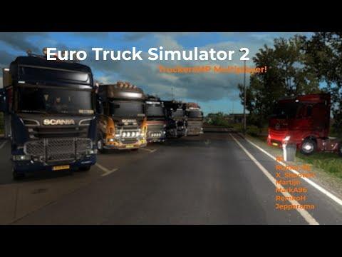 Euro Truck Simulator 2 TruckersMP Livestream 16092017