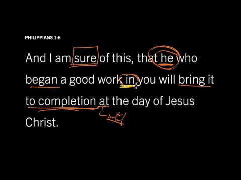 Philippians 1:6 // Ask God to Do What He Promises